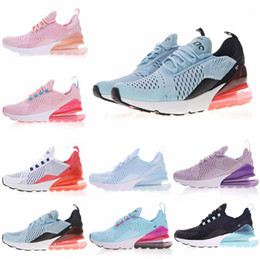 Wholesale sport girls - 2018 270 27C Cactus Running Shoes Womens Girls Fashion Designer Sport Sneakers Skateboarding Trails Outdoor Trainers Boxed