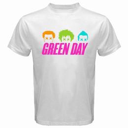 Canada Nouveau T-shirt Green Day Uno Dos Tres Rock Band x Imprimé T-shirts Style Été Mâle Harajuku Top Fitness Marque Vêtements Offre