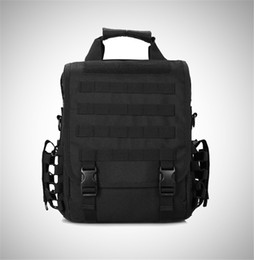 Wholesale Tactical Laptop - Outdoor Sport Tactical Military Backpack For Men Camping Hiking Travel Backpack 14 Inch Laptop Bag Single Shoulder