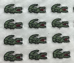 Wholesale Sewing Applique Patch - New Animal Crocodile Pattern embroidered patches for sewing Bag clothing patches iron on sewing accessories applique