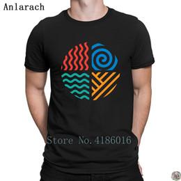 san francisco 97acc c520c Erde-Luft-Wasser-Feuer-T-Shirt Qualitäts-kundenspezifisches klassisches  HerrenT-Shirt für Männer T übersteigt Tendenz-Sommer-Artt-shirt 100%  Baumwolle