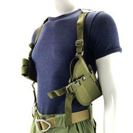 2019 étui à sac de pistolet Sac à bandoulière en nylon pratique pour sac à bandoulière en nylon 600D Sac à bandoulière horizontal Étui BB55 promotion étui à sac de pistolet