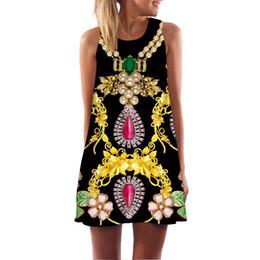 Venta al por mayor envío gratis 3D nuevo patrón de diseño de impresión verano bohemio playa vestidos de verano de las mujeres dashiki hippie boho vestido más el tamaño desde fabricantes