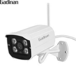 GADINAN Wireless WiFi IP Camera Sony IMX323 1080P 2.0MP Slot per scheda SD Rete ONVIF Sicurezza esterna Night Vision Video CamHi APP supplier outdoor cameras sd slot da slot per videocamere esterne sd fornitori