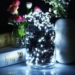 2019 лесная лампа Новое пятно 100 солнечная лампа серии украшения сада Рождество светодиодные строки орнамент лес сад огни дешево лесная лампа