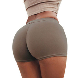 cd44f5b39afc1 New Women Hot Sale Slim Black Glossy Shorts Chinlon Thin Short Sexy Shorts  Elastic Dance Shorts Women 5 Color