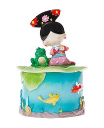 Wholesale tourism souvenirs - Chinese Style Princess Viewing Fish High Quality Handmade Painted Storage Jars Resin Crafts Creative Tourism Souvenir Gift