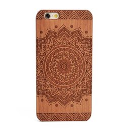 Wholesale Cheap Plastic Iphone Cases - Cheap wood cell phone case for iPhone x apple 6 6s s 7plus 8plus 8 plus wooden hard pc mobile phone back cover