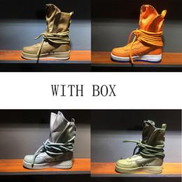 zapatillas marrones Rebajas (CON CAJA) Venta al por mayor NUEVO campo especial uno Faded ive Gum Light Brown Beige Lino alto Botas Hombres Mujeres Running Shoes Boots tamaño 36-45