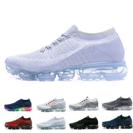 bef0122b63 nike air vapormax 1.0 VM 1.0 homens mulheres running shoes 2019 preto branco  cinza vermelho mens formadores de velocidade sports shoes sneakers zapatos  ...