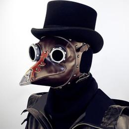 Mens Cadılar Bayramı Kostüm Aksesuarları Venedikliler Tarzı Parti Maskeleri Steampunk Doktor Schnabel Cosplay Maske PU Zihinsel Süslemeleri Maske Ücretsiz Kargo supplier doctor accessories nereden doktor aksesuarları tedarikçiler