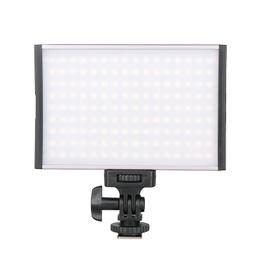 Wholesale Yongnuo Video Light - Ulanzi PT-15B Aluminum Alloy 144 LED Video Light Bi-Color On-Camera Light Super Thin Weight Photo Lighting for DSLR Camera