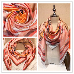 Wholesale Pashmina Brand Scarves - A00H - 3COLORS !!! Famous brand designer women's silk scraves,100% Top grade silk headband, size 140*140 cm .
