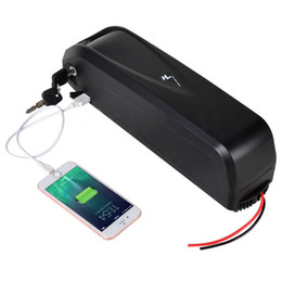 EU US NO TAX 48V 17Ah 750W 1000W E-bike batterie Li-ion Lithium vélo électrique batterie avec commutateur + 5V port USB ? partir de fabricateur