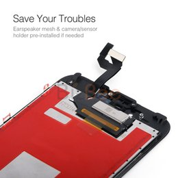 Wholesale Iphone Lcd Original Screen - For iPhone 6S High Qaulity Original LCD Display Screen Touch Digitizer with Frame Full Assembly with 3D Touch Replacement DHL free ship
