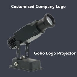 Wholesale Laser 15w - Wholesale- Gobo Logo Projector 15W 25W 45W Ads Shop Mall Restaurant Welcome Laser Shadow Design Own logo Customized Display Advertising Foo