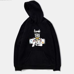 Wholesale Kpop Anime - wangcangli 2018 BTS DOG New Design Kpop Women Sweatshirts Hoodie Funny Harajuku Casual Hoodie Men Women Printing Anime Clothes