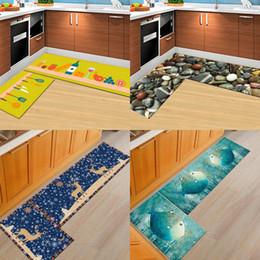alfombras con estampado animal Rebajas Alfombra de la toma del agua del hogar Impresión 3D Alfombras de baño animales Puerta multifunción Lavable Accesorios de baño de la comodidad suave Alta calidad 36wn2 CB