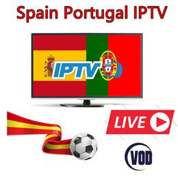 1 año Europa España Portugal IPTV suscripción para Portugal España Canales Livetv Soporte Android TV box smart tv Enigma2 receptor Mag25X desde fabricantes