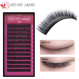 Wholesale Mixed Tray Eyelash - All sizes,12rows case,8~14mm mix in one tray, high quality synthetic mink,natural mink,individual eyelash extension
