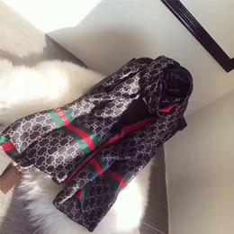 Wholesale Fashion Shawls - New luxury brand Women Silk scarf Beach Shawl and Echarpe Luxurious Wrap Designer scarves Plus Size female beach stole bandana