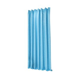 Wholesale Curtains Drapes For Windows - 100x250cm Stars Printed Blackout Window Curtain Room Darkening Drapes for Living Room Bedroom (Sky Blue)