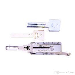 Establecer herramientas lishi online-LISHI Peugeot / Citroën / Smart VA2T 2-en-1 Auto Pick y decodificador Herramientas de cerrajería Cerradura Set de recogida Bloqueo Set