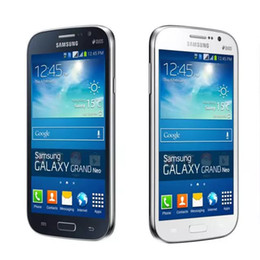 Samsung galaxy grand neo telefone online-Ursprüngliches Samsung GALAXY Grand Neo plus I9060I GSM 3G entriegelt Quad-Core-Telefon des Mobiltelefons 1G / 8G mit GPS-WIFI-Kamera Bluetooth