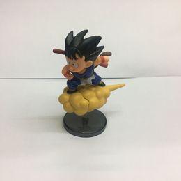 2019 actions de voiture Dragon Ball Action Figure Singe Fils Goku Tenjin Nuage De Voiture Fenêtre Jeu Flying Car Décoration Anime Figure Décoration promotion actions de voiture