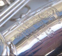 Canada Incroyable Nouvelle saxophone alto Selmer Mark VI 1958 plaqué argent .99% original argent. Pro remaniement.replica Offre