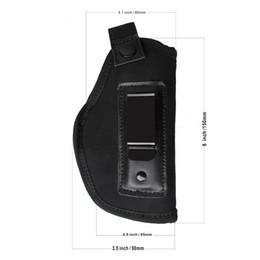 Argentina Caza Tactical Gear Funda de cinturón oculto en Carry pistolera para IWB Holster para pistolas compactas Subcompact Accesorios para exteriores W / Clip Suministro