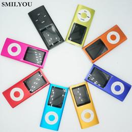 schermo da 16 pollici lcd Sconti SMILYOU Hot Sellin MP3 MP4 Music Player 1.8 pollici LCD 16 GB Memory Screen Lettore video radio FM con 9 colori Availabe