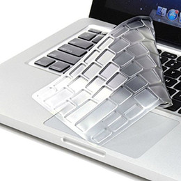 "Copertina della tastiera retina macbook pro online-Tastiera HRH Ultrathin Clear TPU Cover per Mac Pro New 13 ""A1708 (Versione 2016 No Touch Bar) e per Mac 12"" A1534 Retina"
