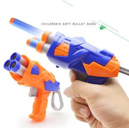 Wholesale Toy Dart Guns - Soft Bullet Toy Gun Durable Children Dart Gun Soft Bullets Manual Operated Gun Children Toys OOA4026