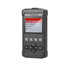 Wholesale cars diagnostic launch codes - Launch CReader 5001 Auto Code Reader Scan Tool OBDII EOBD Full Function Diagnostic Tool Car Code Scanner