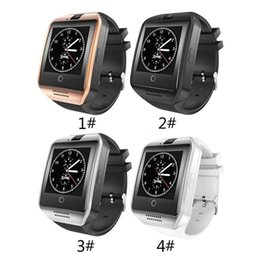 Wholesale Health Packages - Q18 Bluetooth Smart Watch Support SIM Card NFC Connection Health Smartwatches For Android Smartphone with Retail Package