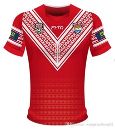 2019 taza de prueba TONGA RUGBY LEAGUE WORLD CUP 2017 HOME JERSEY 2017 Nueva Zelanda TONGA RUGBY LEAGUE 2018 PACIFIC TEST JERSEY talla S-3XL rebajas taza de prueba