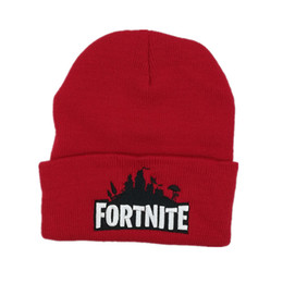 New Sport Winter fortnite game hat Men cap Beanie Knitted Hip Hop Winter Hats For Women Fashion Warm Skullies Bonnet Gorro