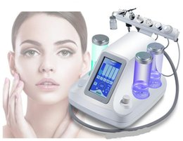 Wholesale Cold Jet - 6in1 Water Oxygen Jet Cold Hammer BIO Ultrasonic Machine Microdermabrasion Hydro Peel Hydrafacial Dermabrasion Hydra Peeling Spa Equipment