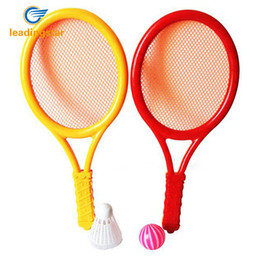 Canada LeadingStar Plastic Rackets Set Tennis Racquets Battledores with Tennis and Badminton Children Sports Toy Random Color zk15 Offre