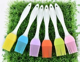 Wholesale Food Grill - Silicone Butter Brush BBQ Oil Cook Pastry Grill Food Bread Basting Brush Bakeware Kitchen Dining Tool 2000pcs