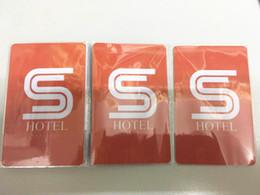 conjunto universal de seleção de bloqueio automático Desconto Frete grátis por atacado 100 pcs Por lote 13.56 MHz 1 K Regravável Cartão Mf FM08 Chips Interno ISO14443A Chip RFID quarto de hotel KeyCard