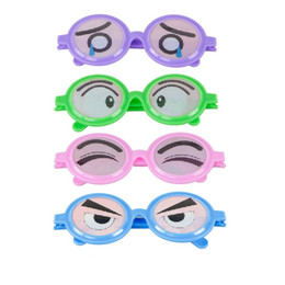 Argentina Trick Glasses Party Halloween Spectacles Interés Juguetes Funny Expression Kuso Niño Kid Gift Toy Prop Plástico 2 7bq V cheap trick glasses Suministro