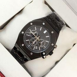 Wholesale Male Auto - Wholesale price New Model Fashion Man Watch auto date Stainless Steel Luxury Male Big Wristwatch Famous Brand Wristwatch High Quality clock