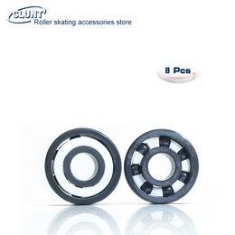 Wholesale full ceramic bearings - Full Ceramic Silicon Nitride Skate Bearing 8x22x7 Si3N4 Ceramic Bearing 608