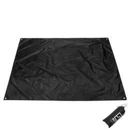 Tapis de camping en Ligne-Tapis de sol extérieur pour tapis de sol coussin Oxford tissu ciel écran 210 * 150cm AT6211