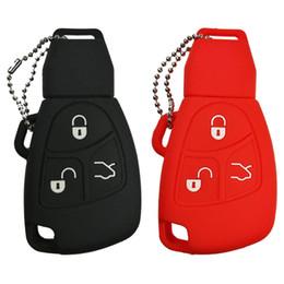 2019 auto fernschlüssel gehäuse Silikon Smart Key FOB Abdeckung Für Mercedes benz Klasse A C E S ML CLK SLK Alte fob fernbedienung zubehör, etc.