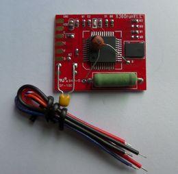 Canada Nouveau RGH Glitcher Rouge Conseil avec 96 MHZ Cristal Oscillateur X360run V1.1 pour XBOX 360 Mince Puce IC DHL FEDEX EMS LIVRAISON GRATUITE Offre