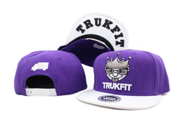 Wholesale New Trukfit Caps - New Arrival trukfit snapback hat adjustable Basketball Hats Black Red hot sale brand flat-brimmed hat casual hip hop baseball cap