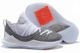 Wholesale final animal - New 2018 Stephen Curry 5 Basketball Shoes steph Mens Curry 5 Gold Championship MVP Finals Sports training Sneakers Runing Shoes Size 40-46